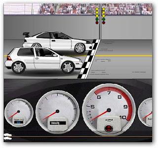 Juego de picadas Drag Racer 3