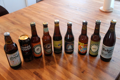 beers purchased at the systembolaget in Malmo, sweden