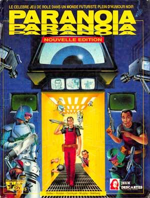 Paranoia (Juego de rol futurista y de humor negro) Paranoia2nd