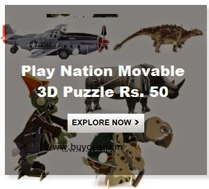 Play Nation Movable 3D Puzzle Rs. 50