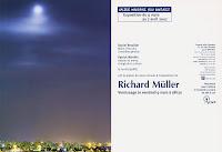 Richard Müller: carton galerie Julio Gonzalez Arcueil