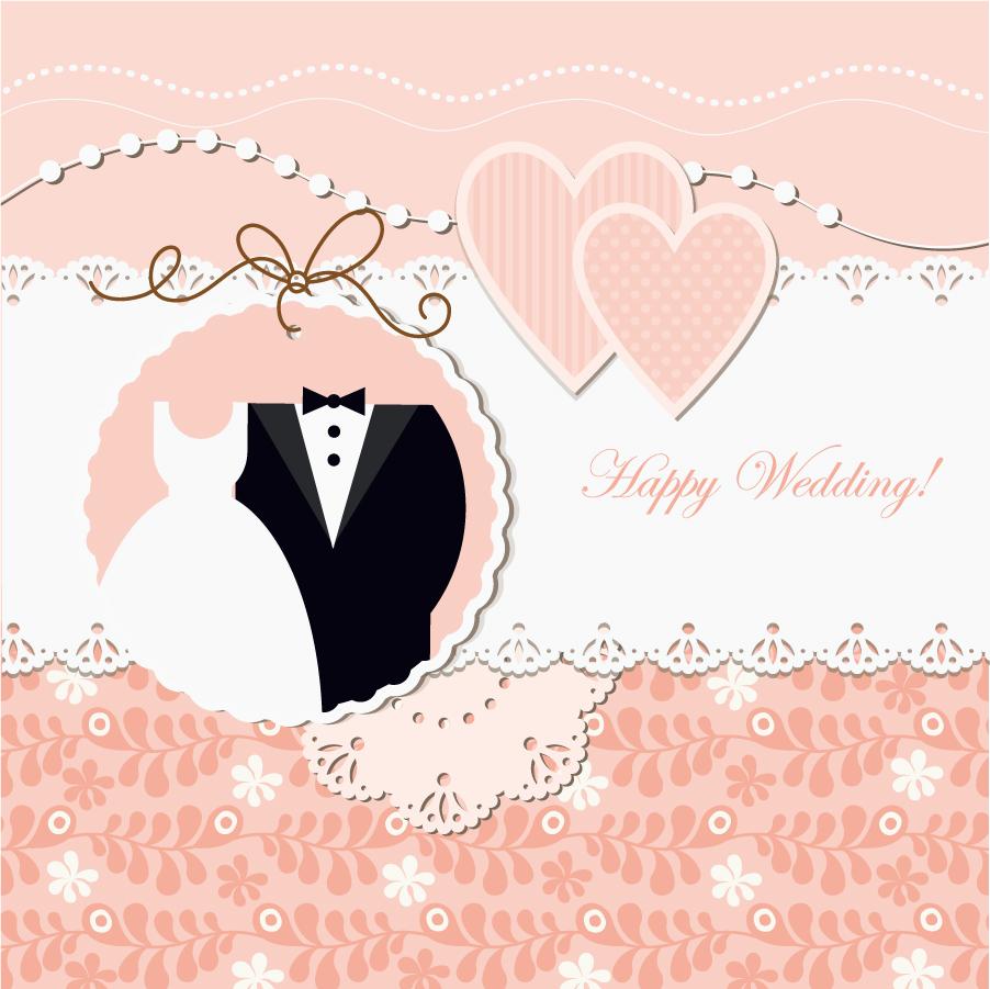 お洒落に飾り付けた結婚招待状 ... : グラフ テンプレート 無料 : 無料