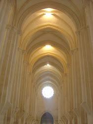 Interior de Mosteiro de Alcobaça