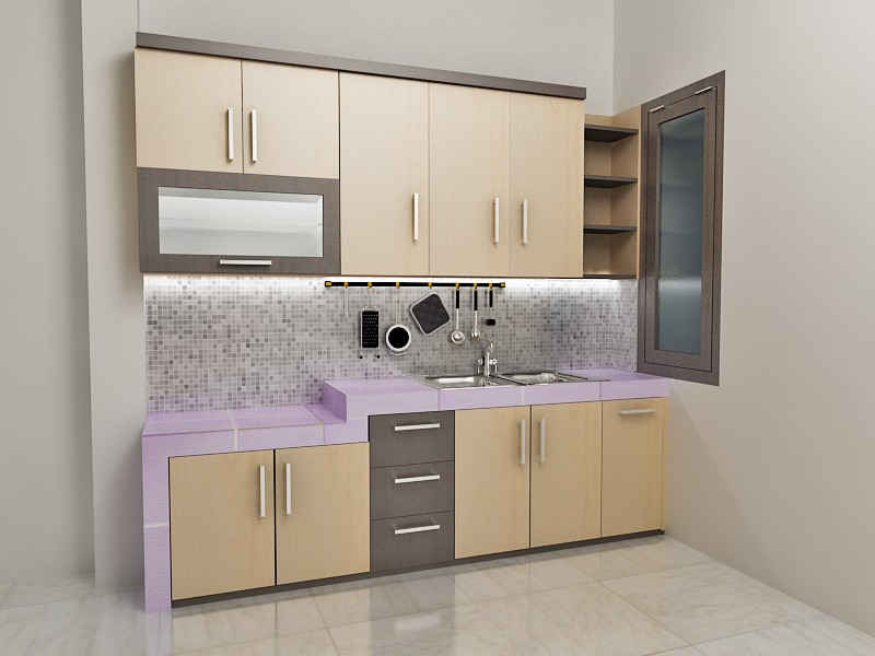 Kitchen set dapur kecil kitchen set minimalis di kota malang for Harga kitchen set minimalis per meter