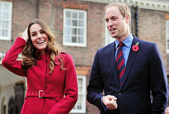 Kate Middleton Persenda Rambut William Semakin Nipis