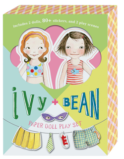 Ivy and Bean Paper Doll Boxed Set