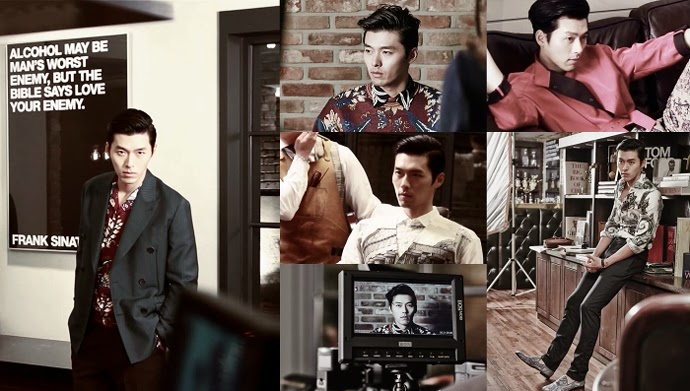 Actor Hyun Bin dazes with his sharp charisma in HIGH CUT clip