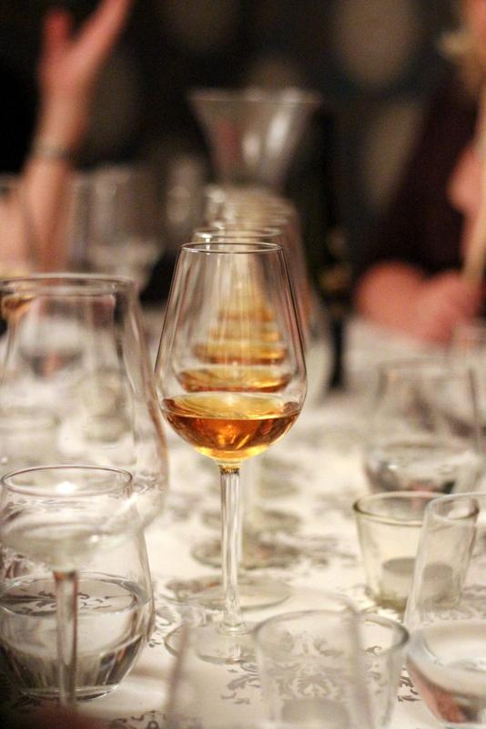 Dessertwein im Supperclub: Kranzberg Auxerrois, Trockenbeerenauslese 2013, Weingut Manz, Rheinhessen | Arthurs Tochter Kocht by Astrid Paul