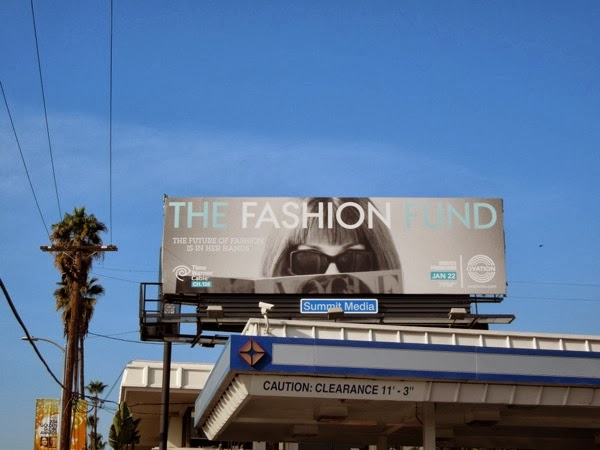 The Fashion Fund billboard