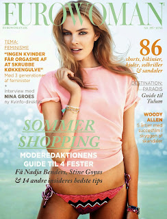Malene Knudsen HQ Pictures Eurowoman Magazine Photoshoot June 2014 By Jonas Bie
