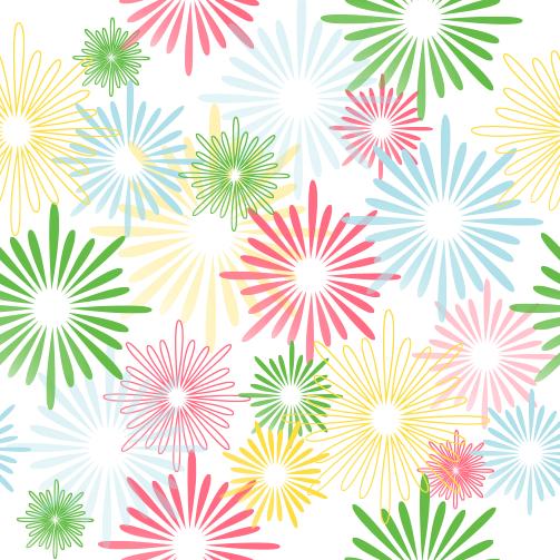 Patrón Floral 1 - vector