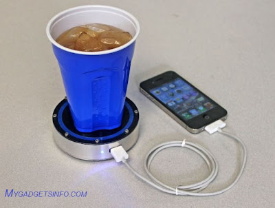 Temprature Based Mobile Charger for android, iphone ipad.