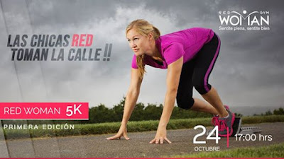 5k Gimnasio Red Woman (Montevideo, 24/oct/2015)