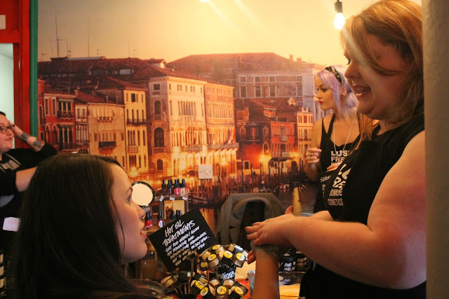 lush blogger event hull
