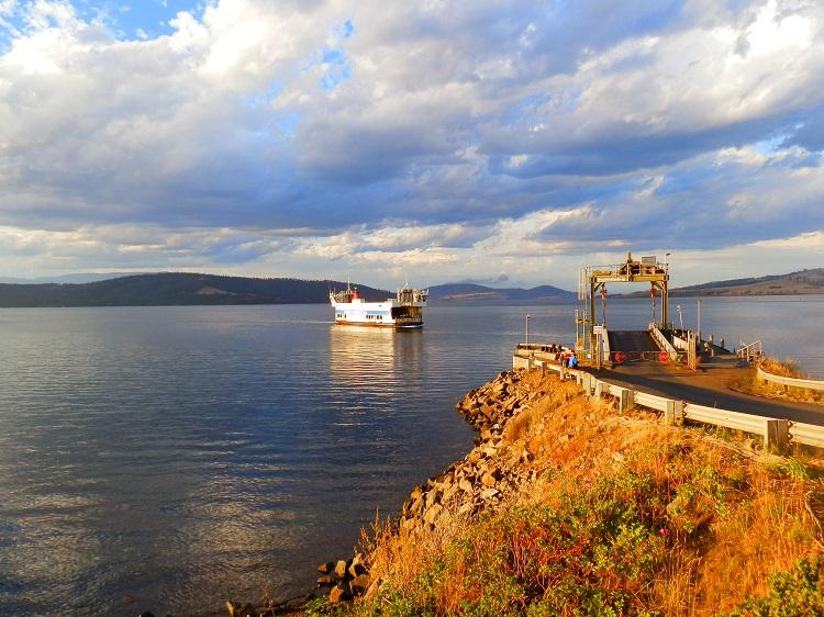 Bruny Island Ferry To Adventure Bay