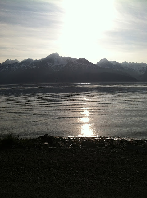 May Kayaking in Seward, Alaska