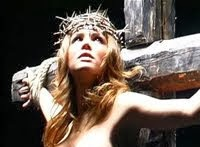 <i>The female Jesus crucified</i>