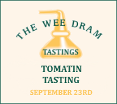 Wee Dram Tomatin Tasting