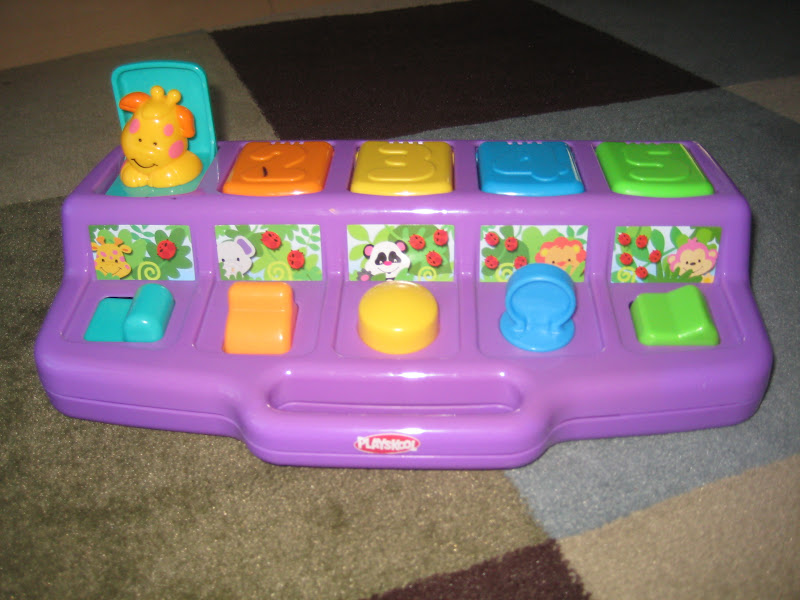 Playskool Busy Poppin Pals I ve had this toy since I was