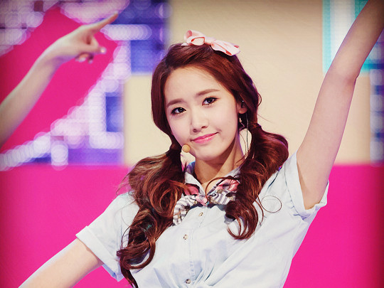 Cute YOONA SNSD 2013 Mnet Comeback Photo Edit
