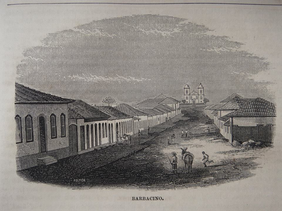 BARBACENA  The National Magazine - May, 1854.