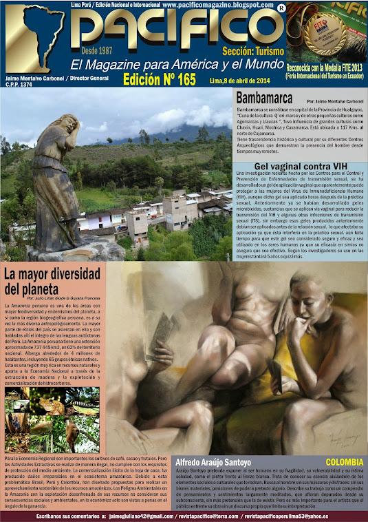 Revista Pacífico Nº 165 Turismo