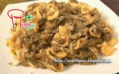Orecchiette Carciofi e Salsiccia di Cotto e Mangiato