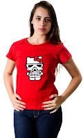 Camiseta Namorada Geek Star Wars