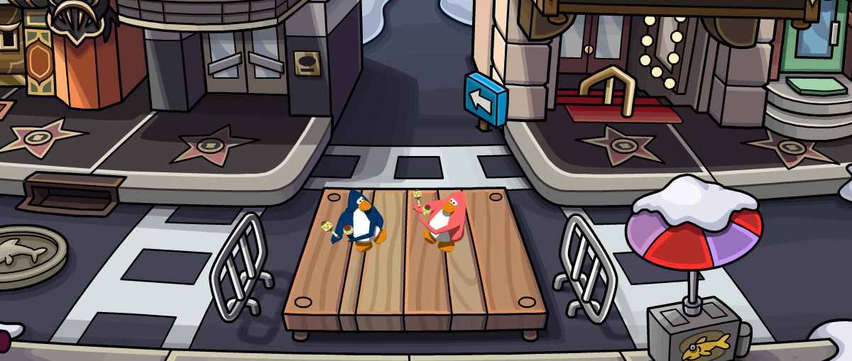 how to get drill emote club penguin