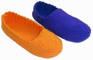 Free Crochet Patterns for boys slippers