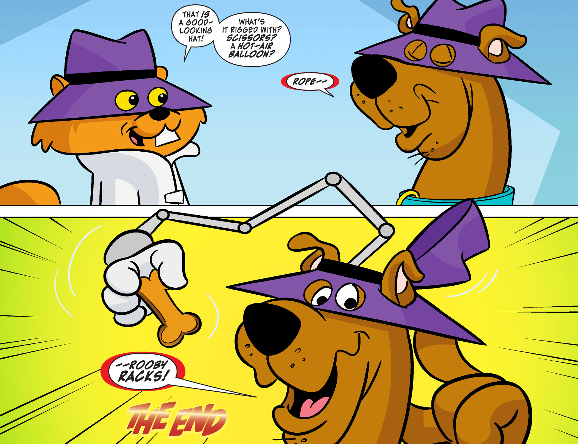 Read online Scooby-Doo! Team-Up comic -  Issue #22 - 22
