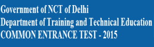 Delhi CET 2015