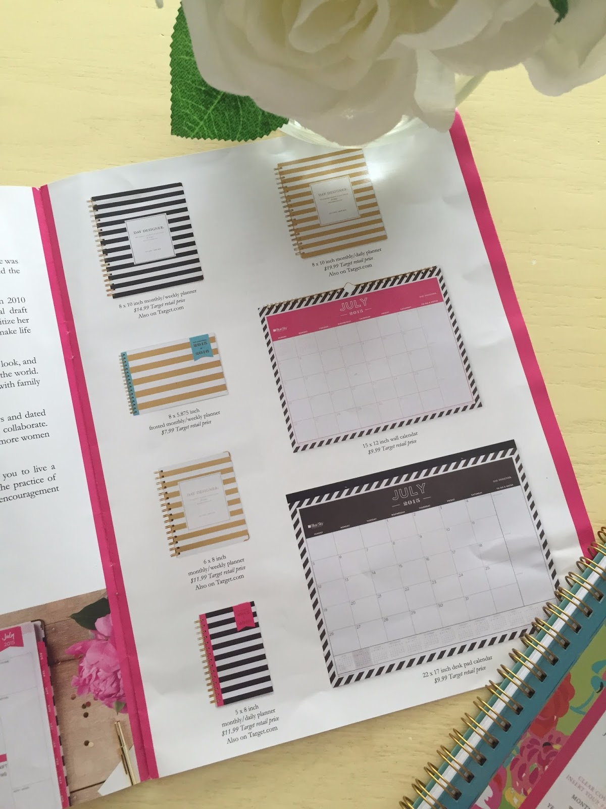 Calendar Planner Target : Royally planned: whitney english for target giveaway royally pink