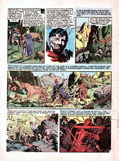 Valor v1 #3 ec comic book page art by Al Williamson