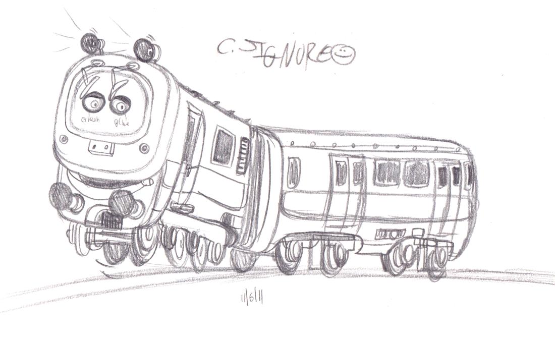Signore Studios: Chuggington Sketches