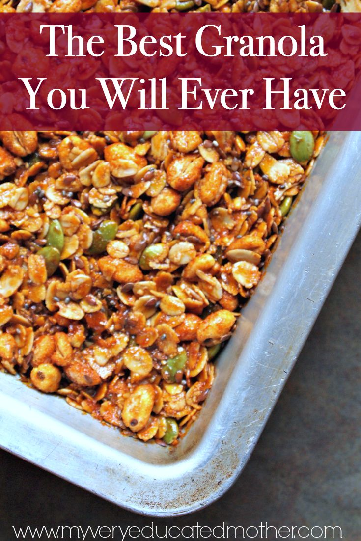 There is so much goodness packed into this granola, plus it's delicious! via @mvemother