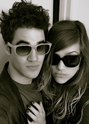 Darren Criss With His Girlfriend In These New Pictures And Photoes In 2013.