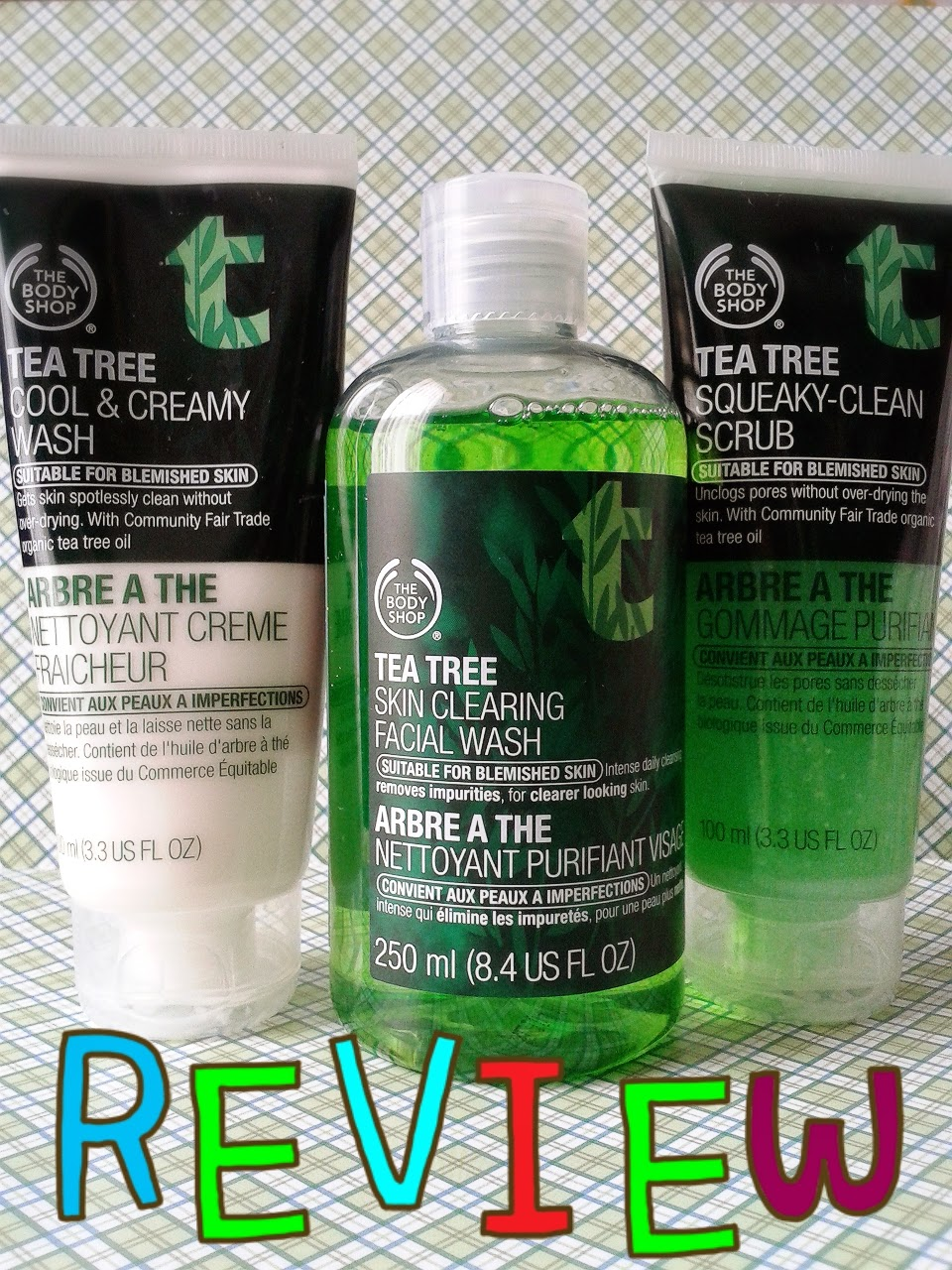 Review The Body Shop Tea Tree Squeaky Clean Scrub | 我的美丽日记