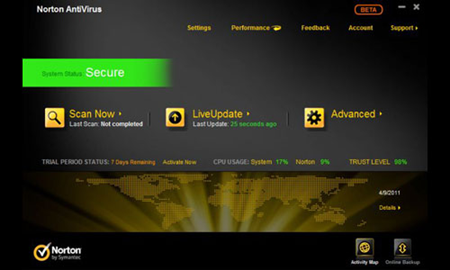 AntiVirus Terbaik Norton 2012