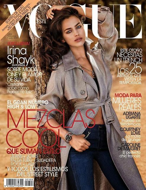 Irina Shayk Vogue Spagna