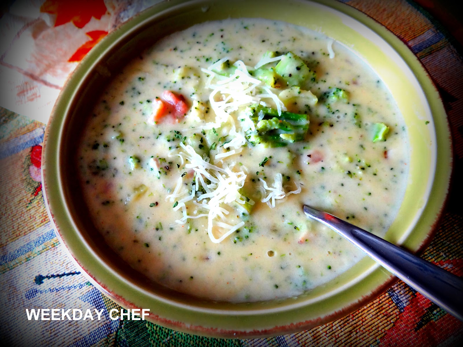 Weekday Chef: Cream of Broccoli Soup like Kneaders