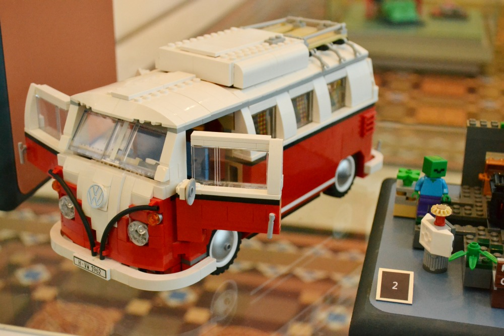 lego VW campervan national museum scotland toy