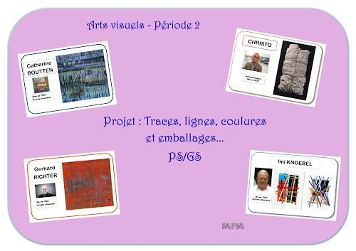 Projet arts visuels-période2 en maternelle