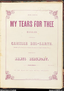 My Tears for Thee Camille Del Sarte