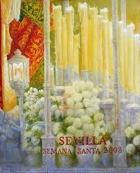 Cartel Semana Santa de Sevilla 2008