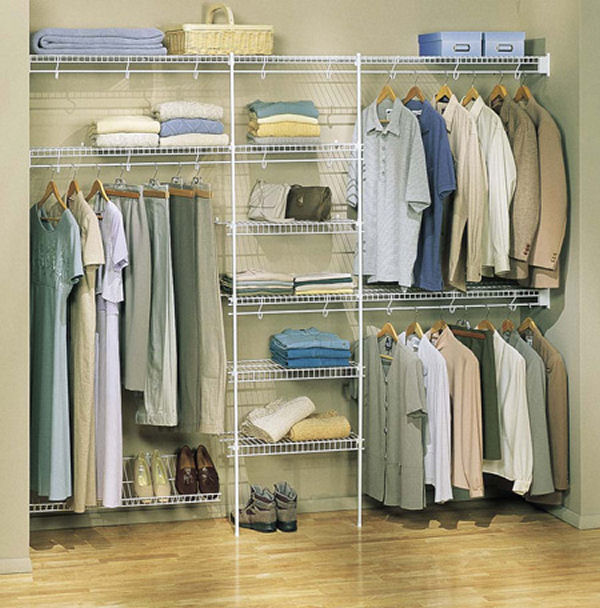 17 elegant and trendy bedroom closet desingns home decorating ideas - Bedroom wall closet designs ...