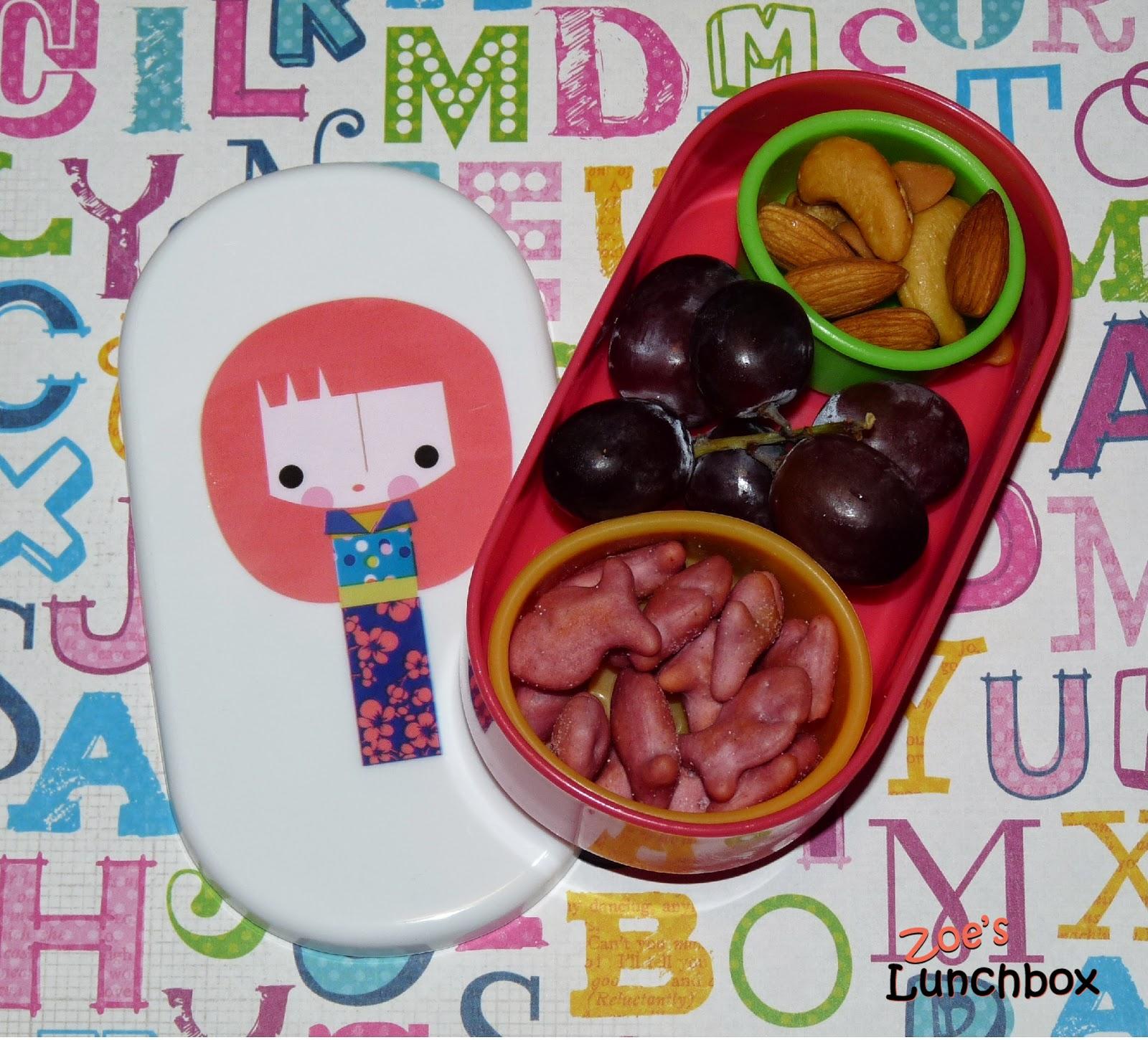 Kindergarten bento snack