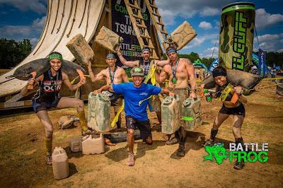BattleFrog Series Atlanta 2015 - Team Dynasty OCR