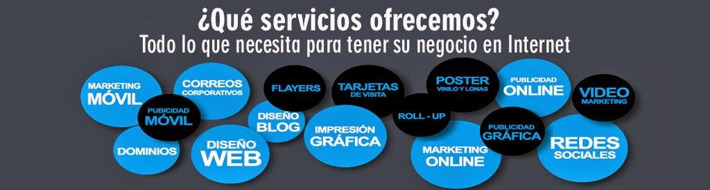 Diseño web, imprensión gráfica,marketing y publicidad móvil