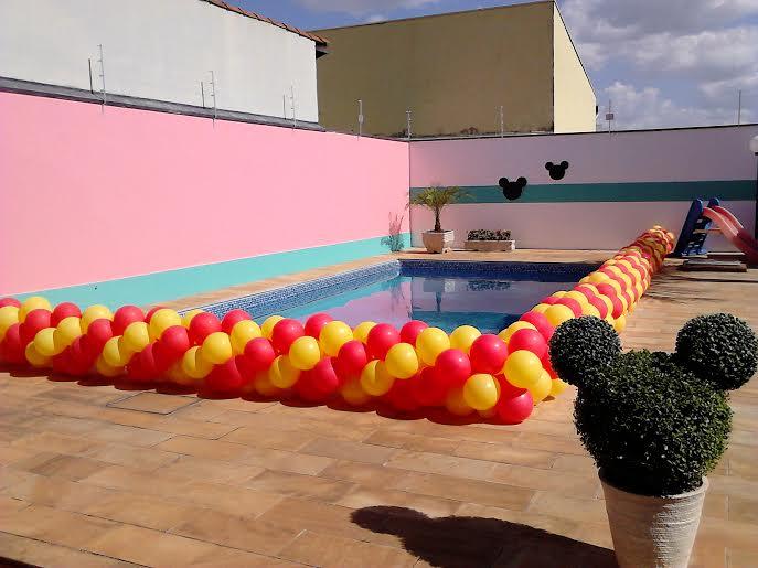 Mickey - piscina